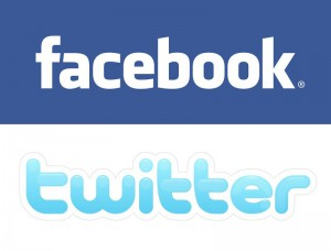 facebook og twitter logo